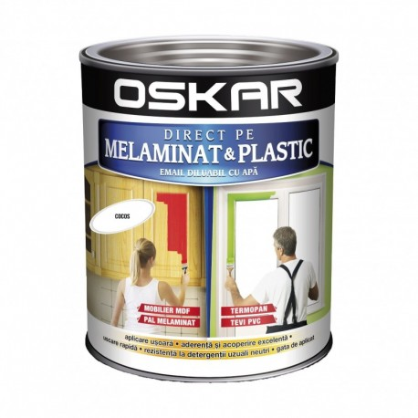 EMAIL DIRECT PE MELAMINAT SI PLASTIC, INTERIOR / EXTERIOR, DARK CHOCOLATE, 0.6L, OSKAR
