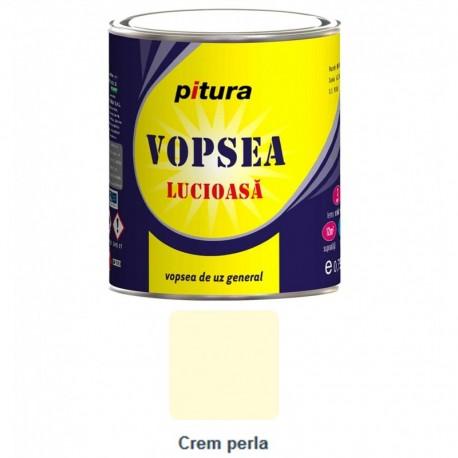 VOPSEA ALCHIDICA PENTRU LEMN / METAL, INTERIOR / EXTERIOR, CREM PERLA, 0.6L, PITURA