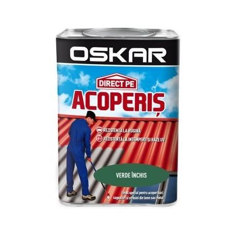 VOPSEA ALCHIDICA, DIRECT PE ACOPERIS, EXTERIOR, VERDE INCHIS. 0.75L, OSKAR