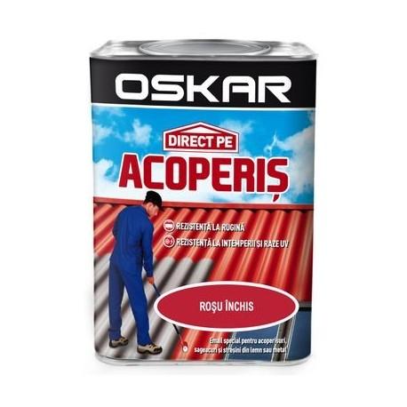 VOPSEA ALCHIDICA, DIRECT PE ACOPERIS, EXTERIOR, ROSU INCHIS, 0.75L, OSKAR