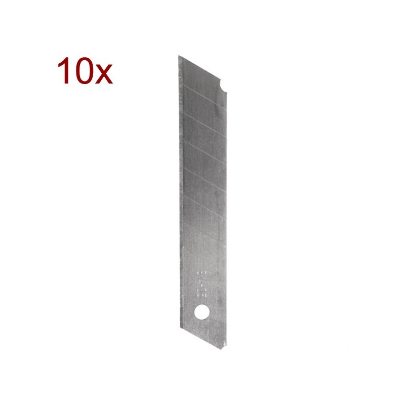 SET 10 LAME CUTTER, 18MM, TOPMASTER