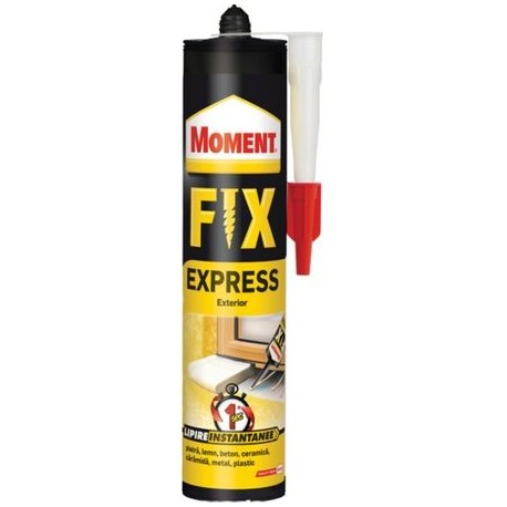 SILICON, FIX EXPRESS, 375GR, MOMENT