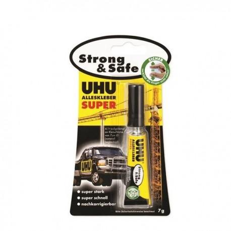 ADEZIV UNIVERSAL, SUPER STRONG & SAFE, 7G, UHU