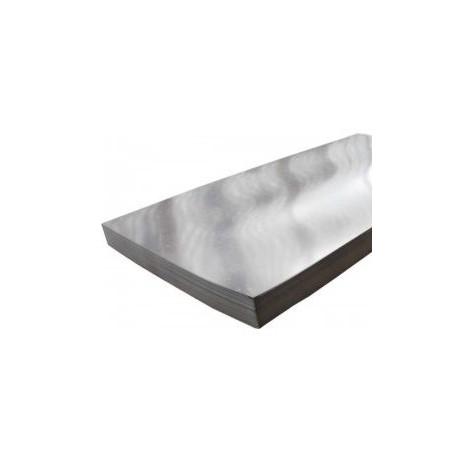 TABLA ZINCATA LISA, GR 2MM, 1000MMX2000MM