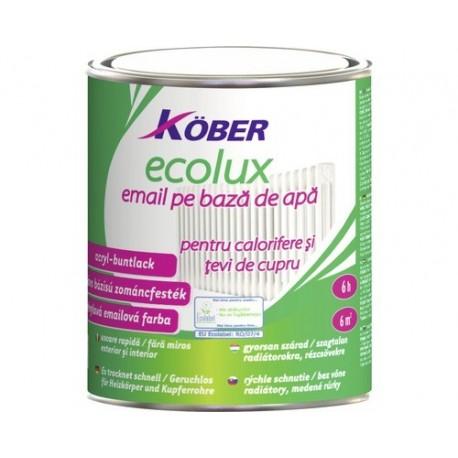 EMAIL CALORIFER, ECOLUX, GALBEN, 0.75L, KOBER