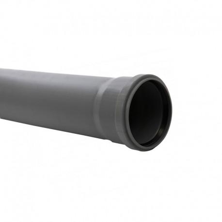 TUB PP PENTRU CANALIZARE, CU INEL, 110 X 2.7 MM, 1M